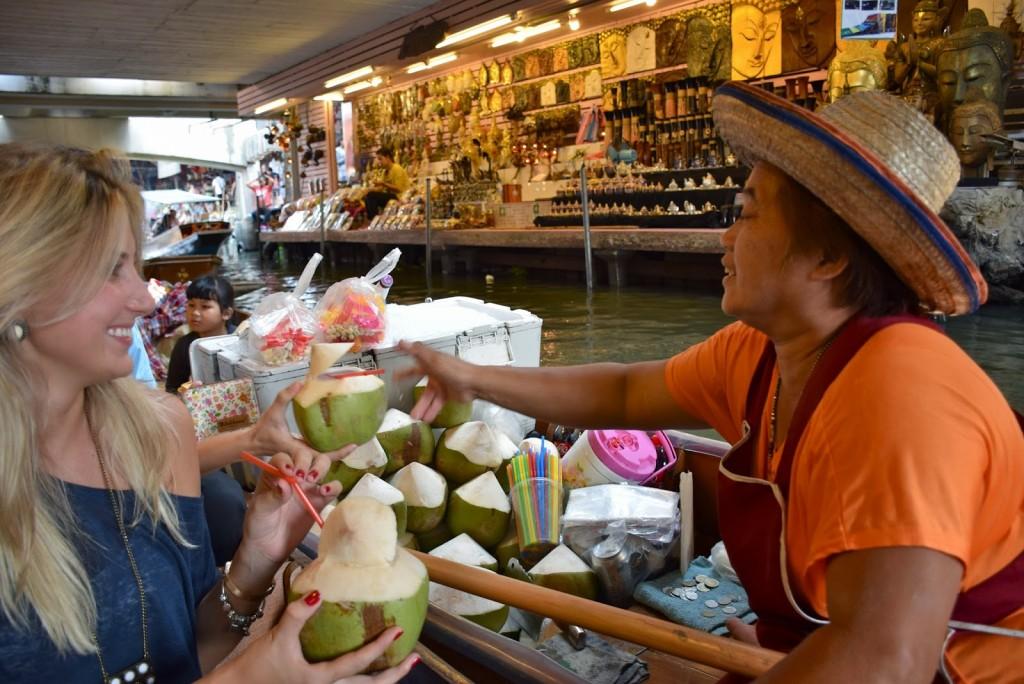 08 mercado flutuante damnoen saduak floating market - bangkok - dicas de viagem tailandia