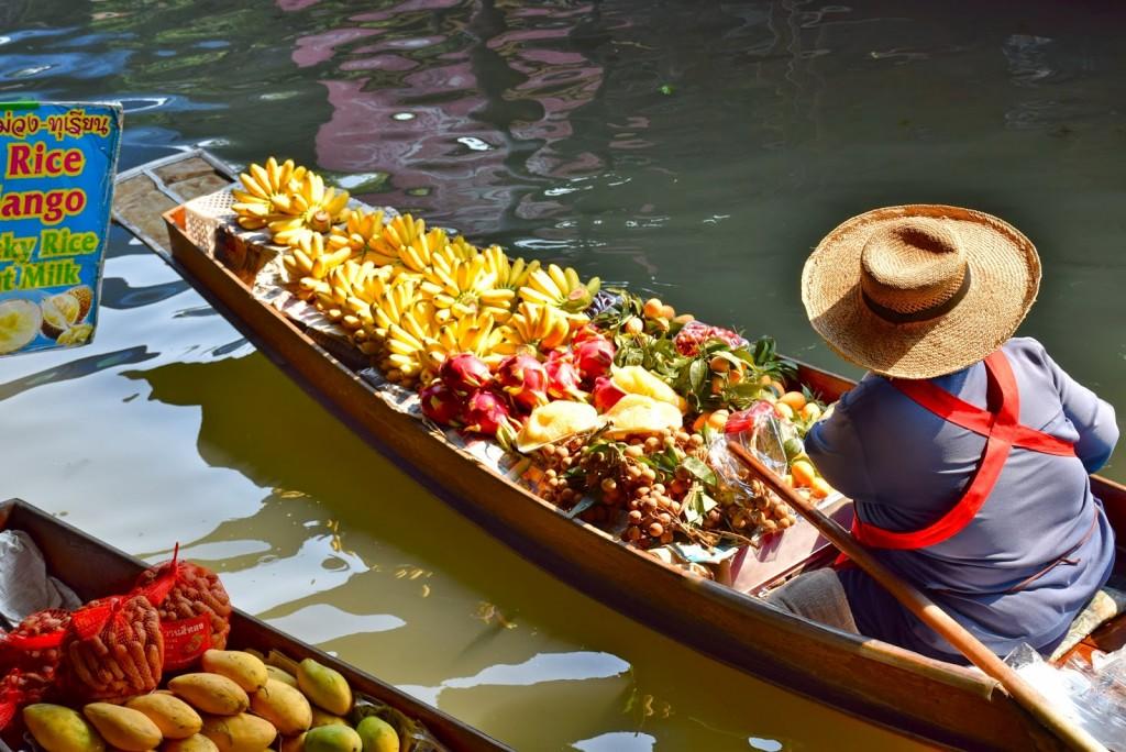09 mercado flutuante damnoen saduak floating market - bangkok - dicas de viagem tailandia