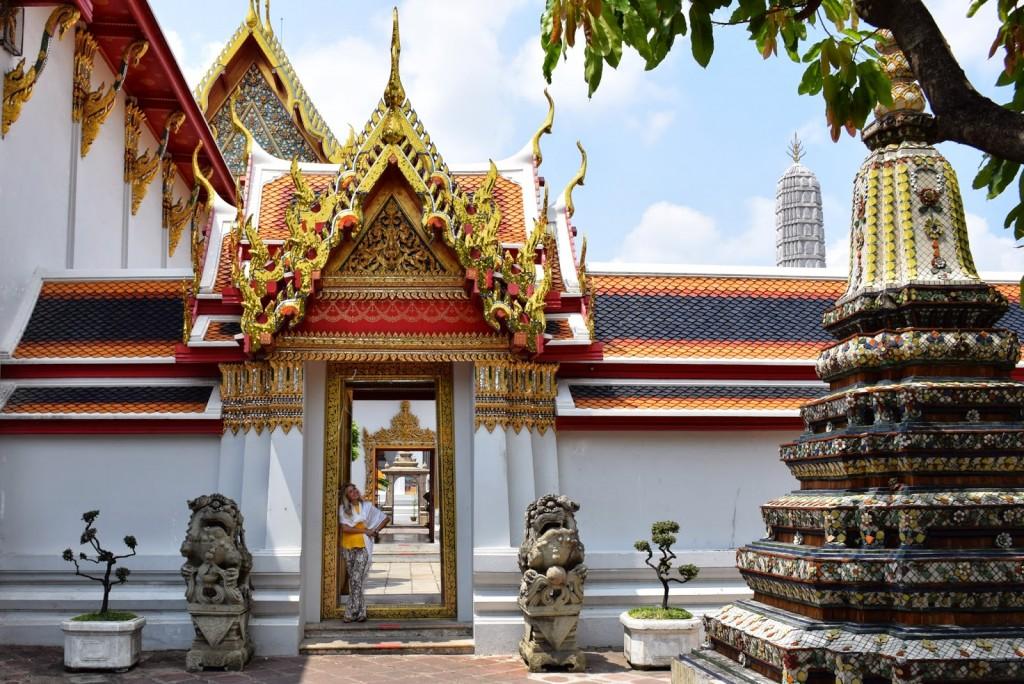 10 Wat Pho - templo do buda reclinado - o que fazer em bangkok dicas de viagem tailandia