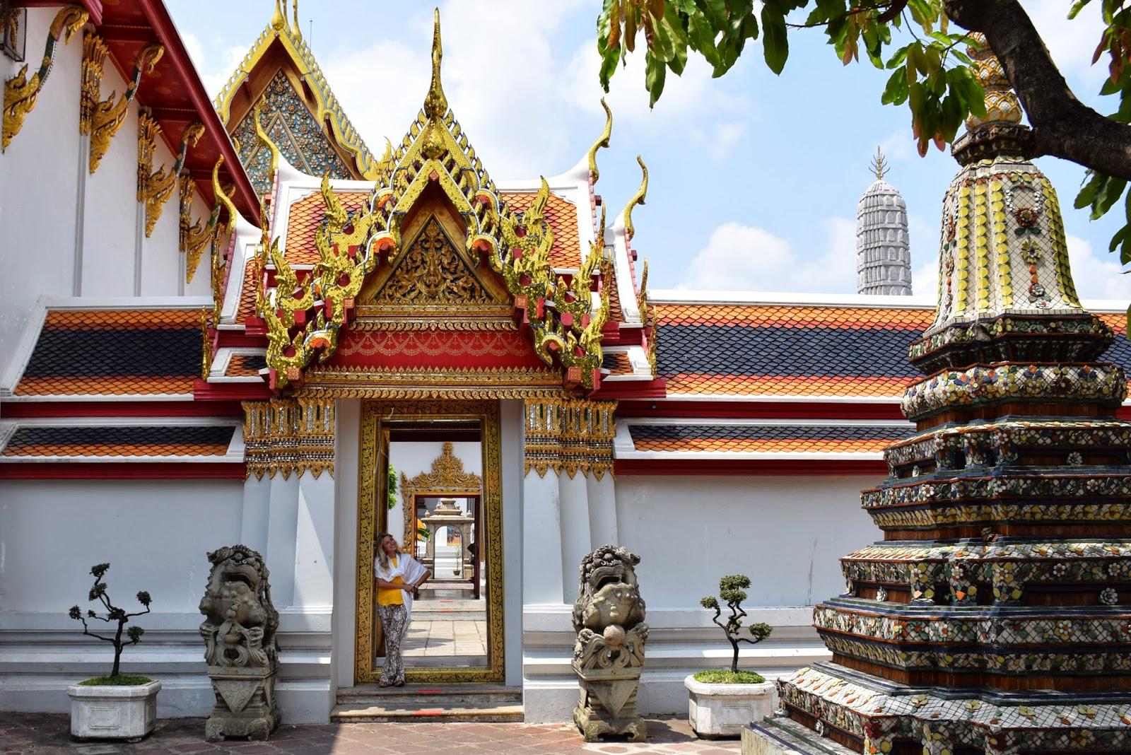 lua de mel mes a mes - templo wat po Bangkok - Tailandia