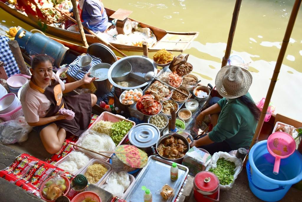 10 mercado flutuante damnoen saduak floating market - bangkok - dicas de viagem tailandia
