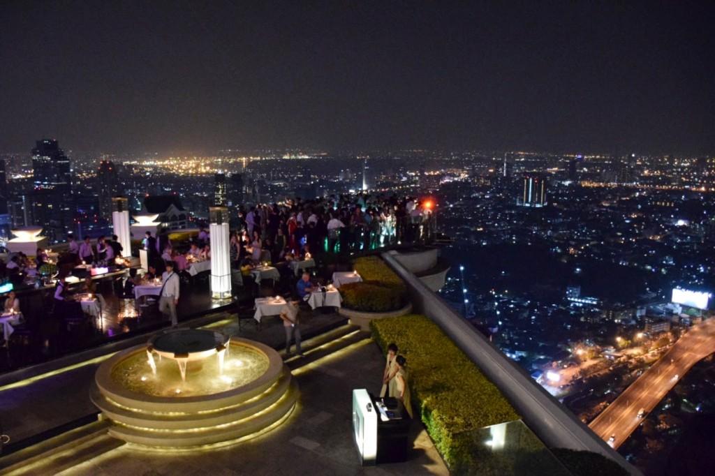 13 SIROCCO dome lebua state tower - hotel e restaurantes e rooftop bar de bangkok - dicas da Tailandia