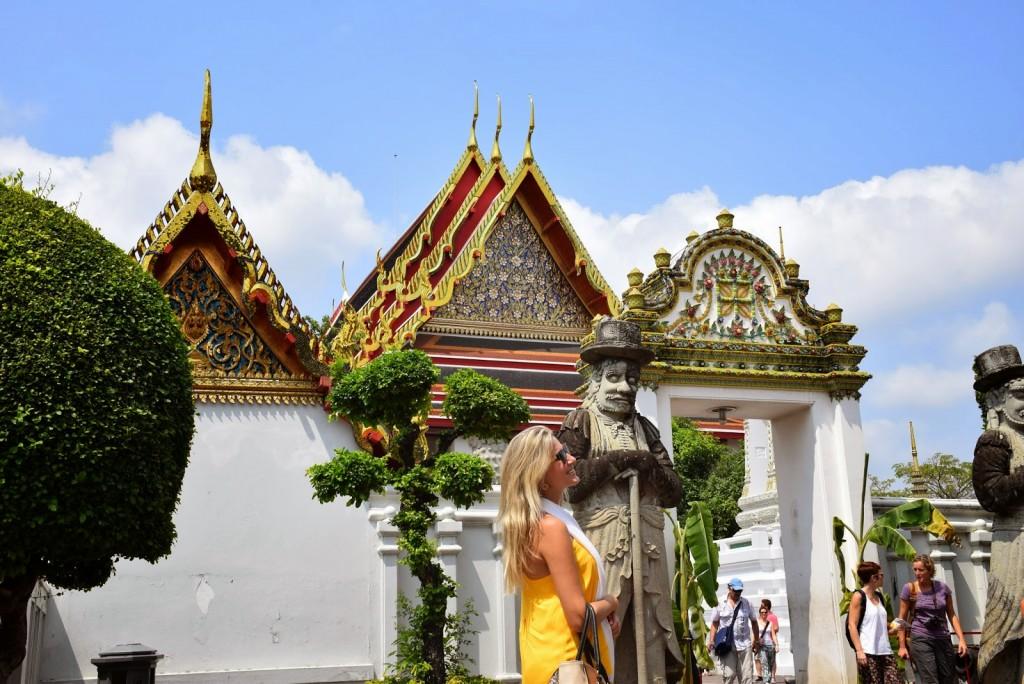 13 Wat Pho - templo do buda reclinado - o que fazer em bangkok dicas de viagem tailandia
