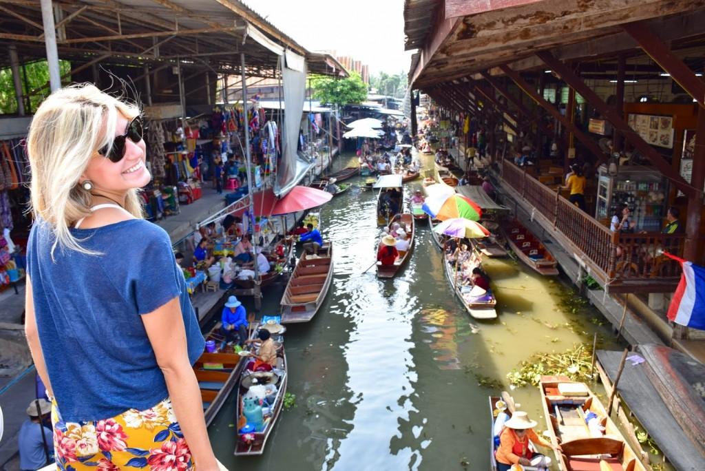 13 mercado flutuante damnoen saduak floating market - bangkok - dicas de viagem tailandia