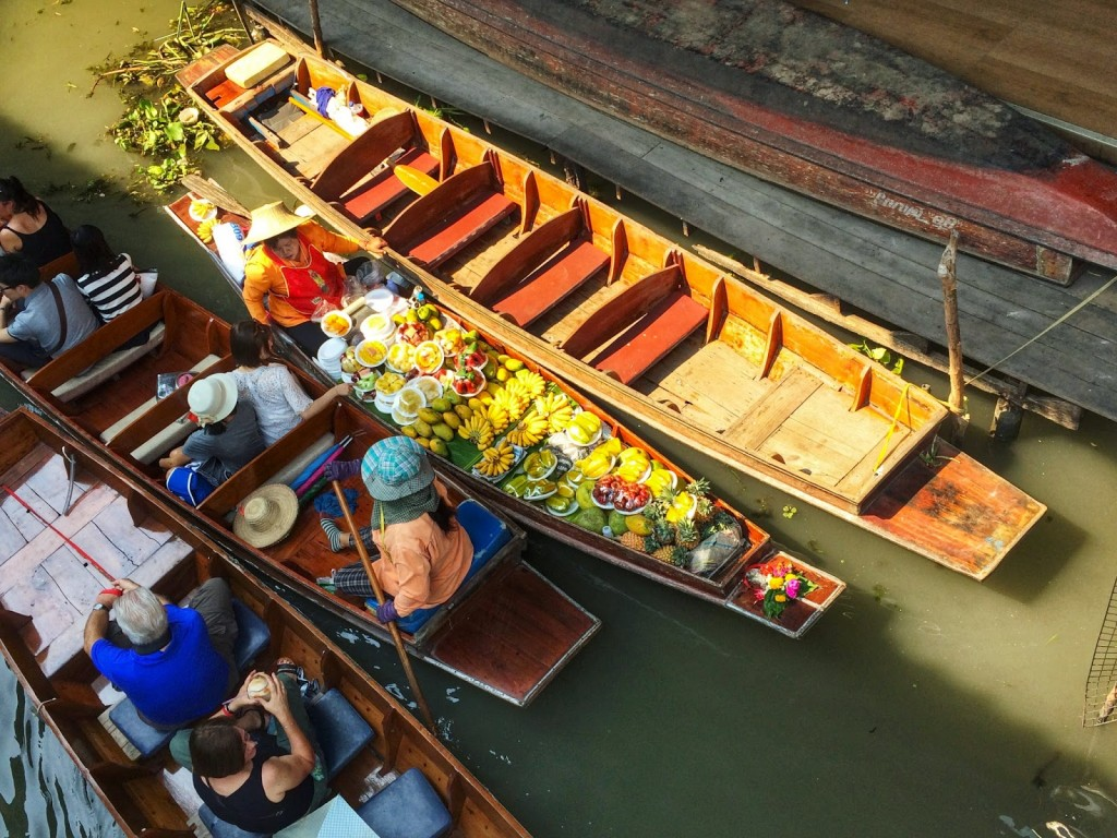 14 mercado flutuante damnoen saduak floating market - bangkok - dicas de viagem tailandia