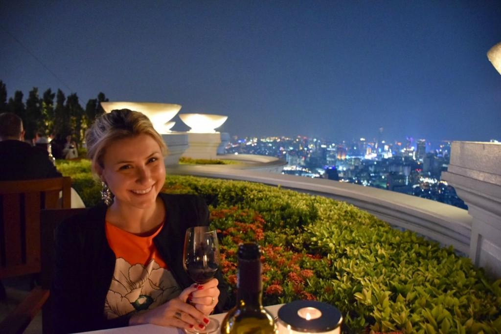 16 SIROCCO dome lebua state tower - hotel e restaurantes e rooftop bar de bangkok - dicas da Tailandia