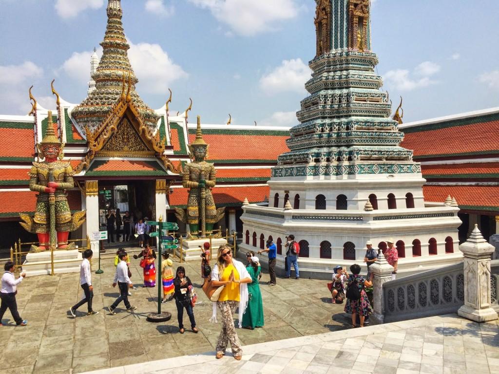 24-2 Grand Palace e templo do buda de esmeralda Wat Phra Kaew - o que fazer em bangkok dicas de viagem tailandia
