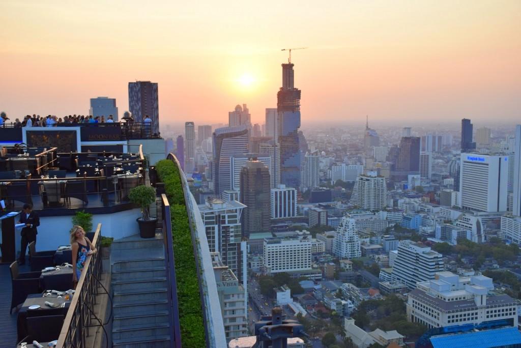 24 VERTIGO and MOON bar rooftop restaurant Banyan Tree Hotel - dicas de viagem Bangkok Tailandia