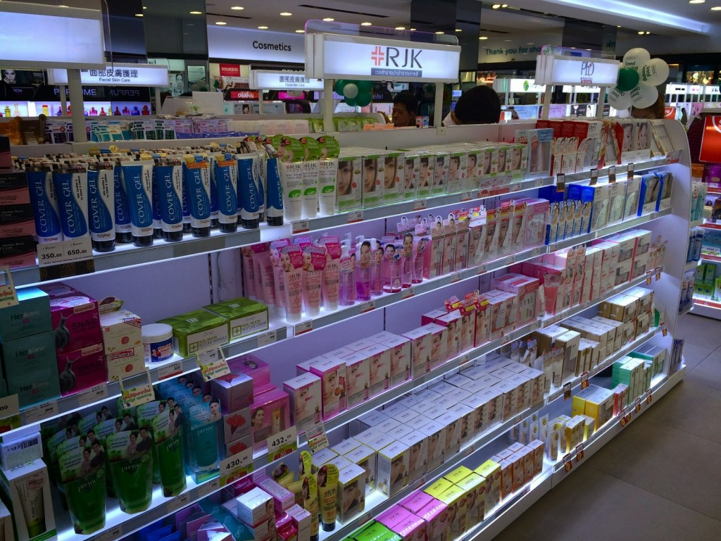 26 Farmácia Watsons - shoppings Siam Square Bangkok - dicas de viagem Tailandia