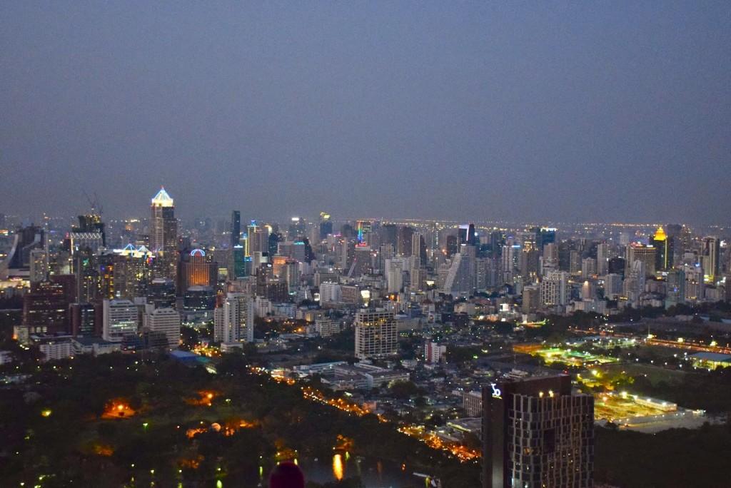 26 VERTIGO and MOON bar rooftop restaurant Banyan Tree Hotel - dicas de viagem Bangkok Tailandia