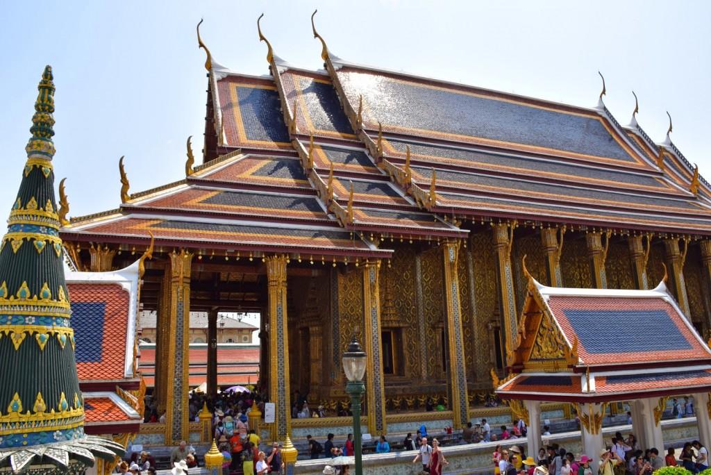 Wat Phra Kaew, o Templo do Buda de Esmeralda