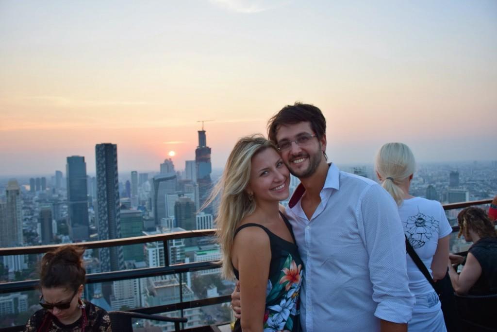 27 VERTIGO and MOON bar rooftop restaurant Banyan Tree Hotel - dicas de viagem Bangkok Tailandia