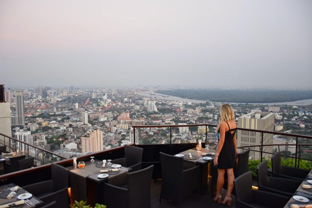 28 VERTIGO and MOON bar rooftop restaurant Banyan Tree Hotel - dicas de viagem Bangkok Tailandia