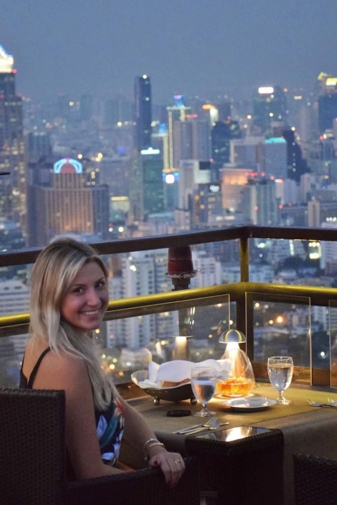 29 VERTIGO and MOON bar rooftop restaurant Banyan Tree Hotel - dicas de viagem Bangkok Tailandia