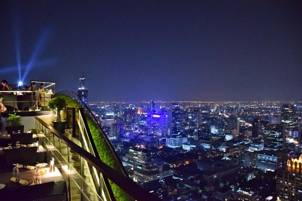 31 VERTIGO and MOON bar rooftop restaurant Banyan Tree Hotel - dicas de viagem Bangkok Tailandia