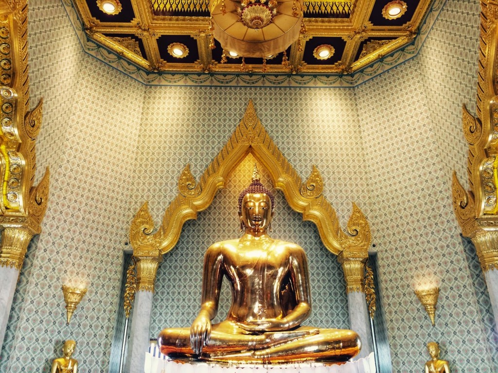 The Golden Buddha - uau!
