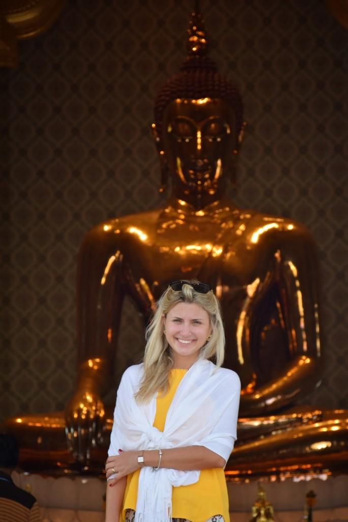 35 Wat Traimit - Templo do Buda de Ouro - Golden Buddha Chinatown - o que fazer em bangkok dicas de viagem tailandia