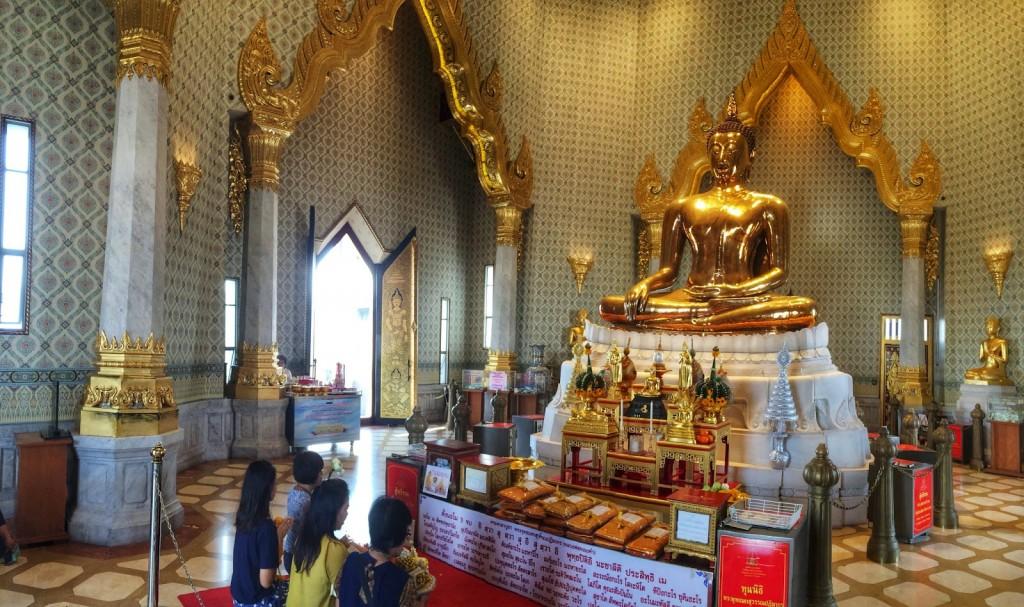 37 Wat Traimit - Templo do Buda de Ouro - Golden Buddha Chinatown - o que fazer em bangkok dicas de viagem tailandia