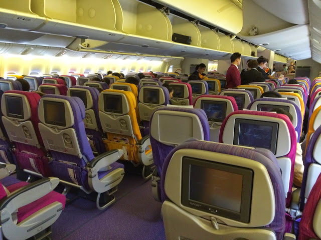 Avión de Thai Airways