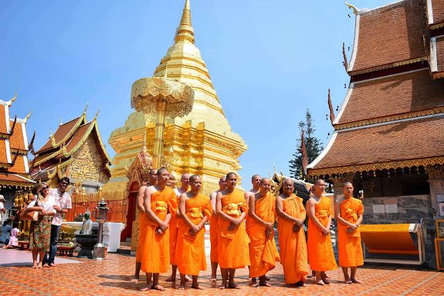 11 Wat Phrathat Doi Suthep - temple mountain - chiang mai tailandia