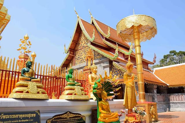 13 Wat Phrathat Doi Suthep - temple mountain - chiang mai tailandia