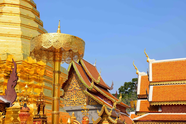 15 Wat Phrathat Doi Suthep - temple mountain - chiang mai tailandia