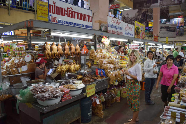 19 warorot market - chiang mai tailandia