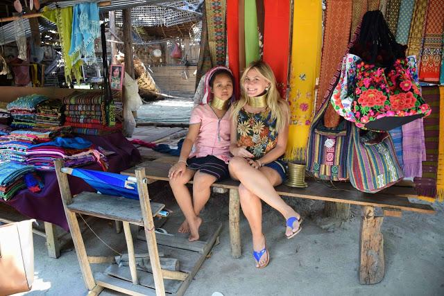 46 Baan Tong Luang Village - hill tribes - TRIBO DAS MULHERES GIRAFA - KAREN PADONG LONG NECK - chiang mai tailandia