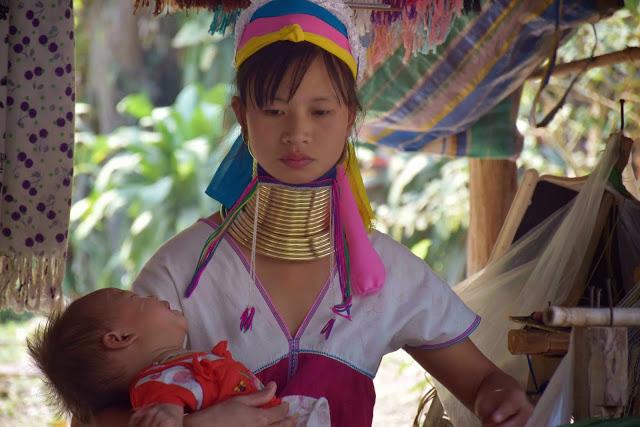 47 Baan Tong Luang Village - hill tribes - TRIBO DAS MULHERES GIRAFA - KAREN PADONG LONG NECK - chiang mai tailandia