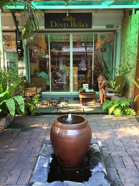 65 deep relax thai massage - chiang mai tailandia