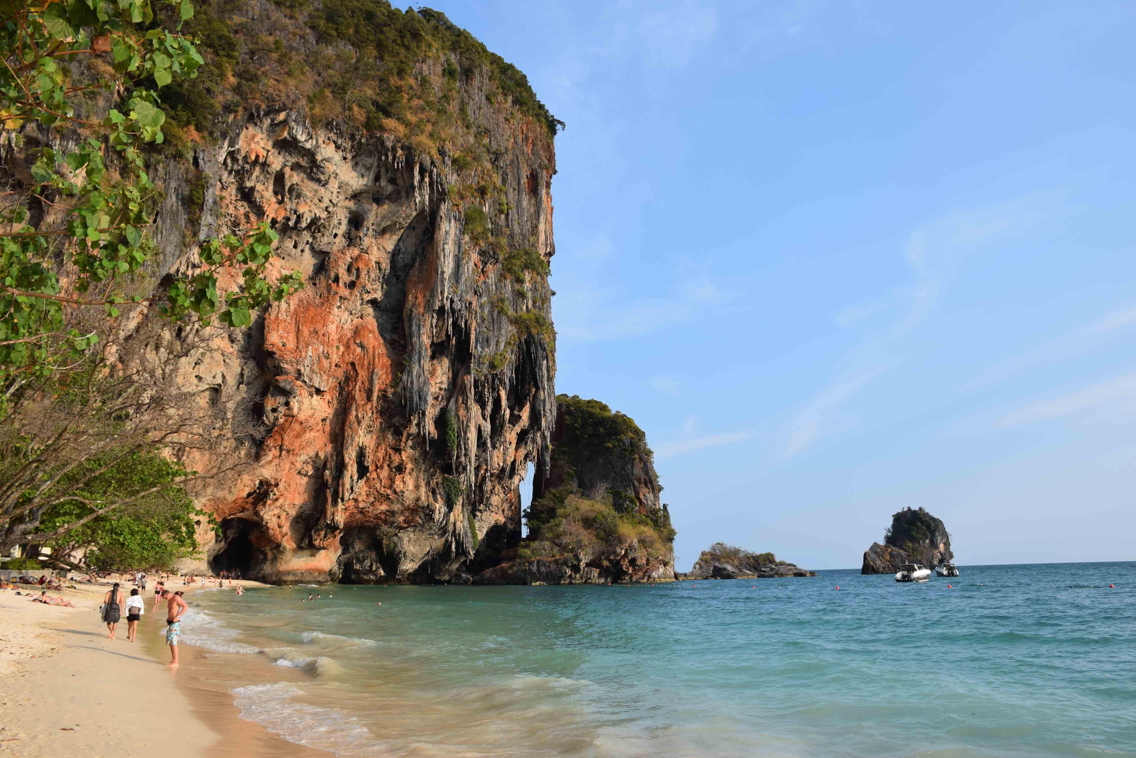 KRABI PHRANANG BEACH THAILAND RAYAVADEE