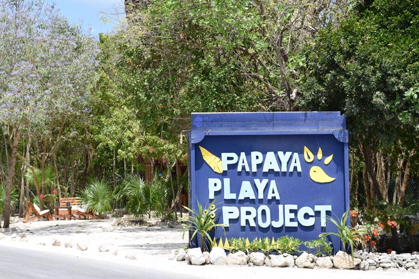 Entrada do Papaya Playa Project Hotel & Beach Club