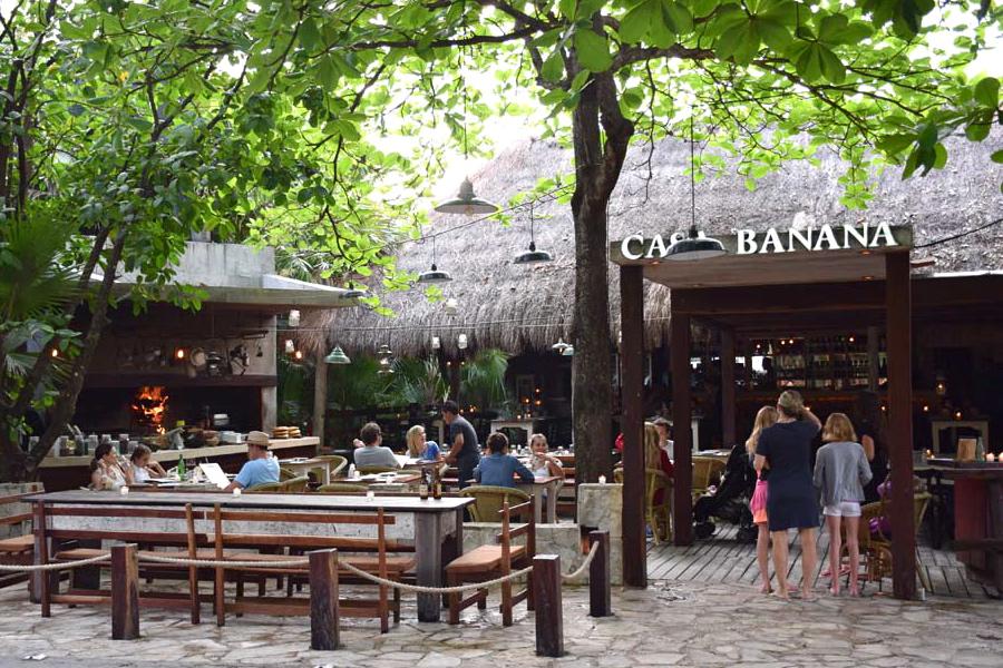 Casa Banana restaurante tulum mexico