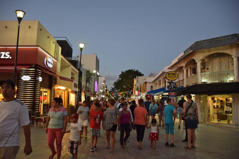 paseo del carmen playa del carmen mexico