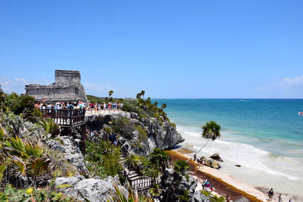 tulum castillo mexico