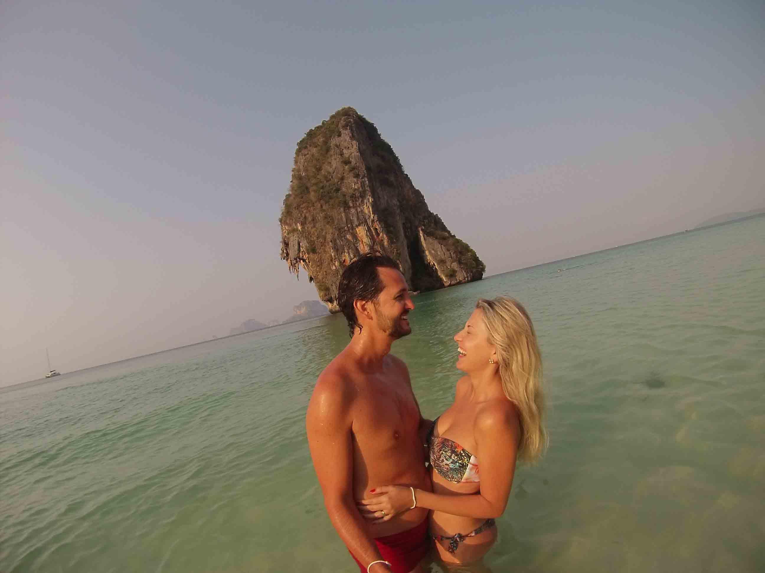 dicas de krabi - Phranang Cave Beach - praias da tailandia