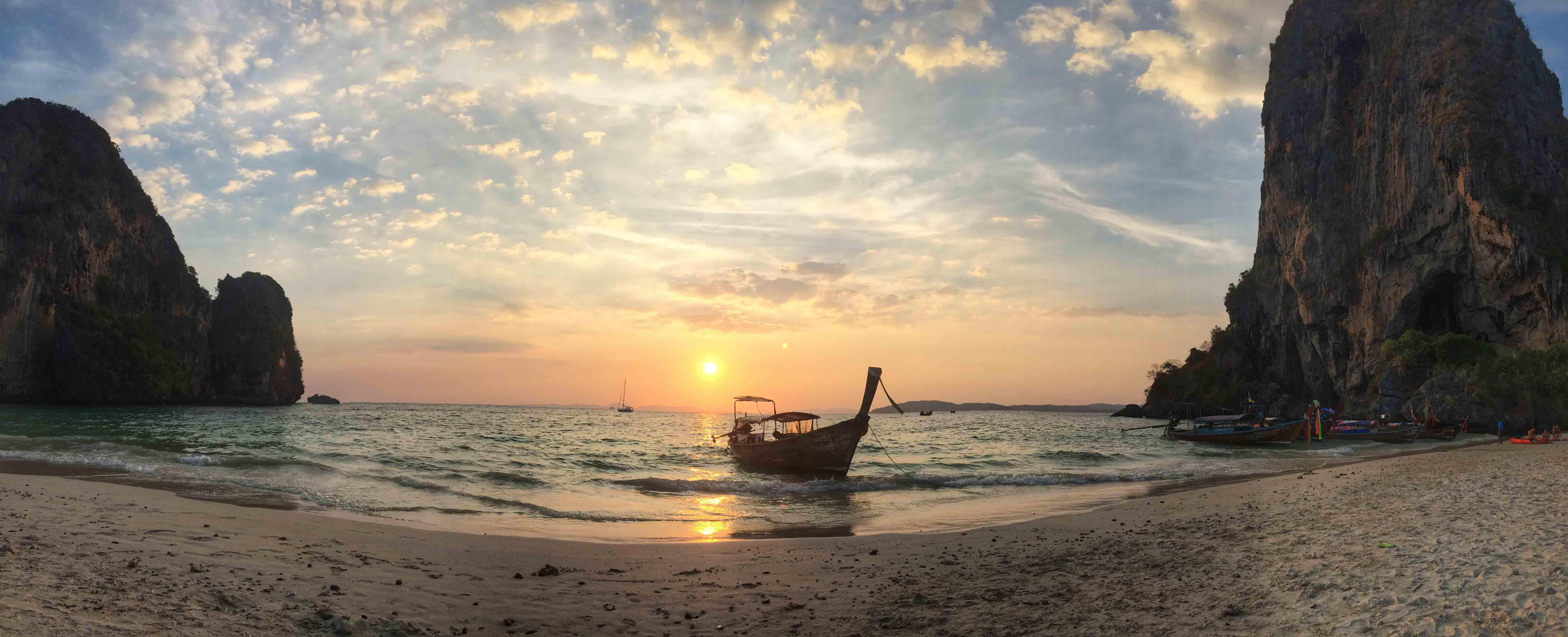 dicas de krabi - tailândia - phranang cave beach