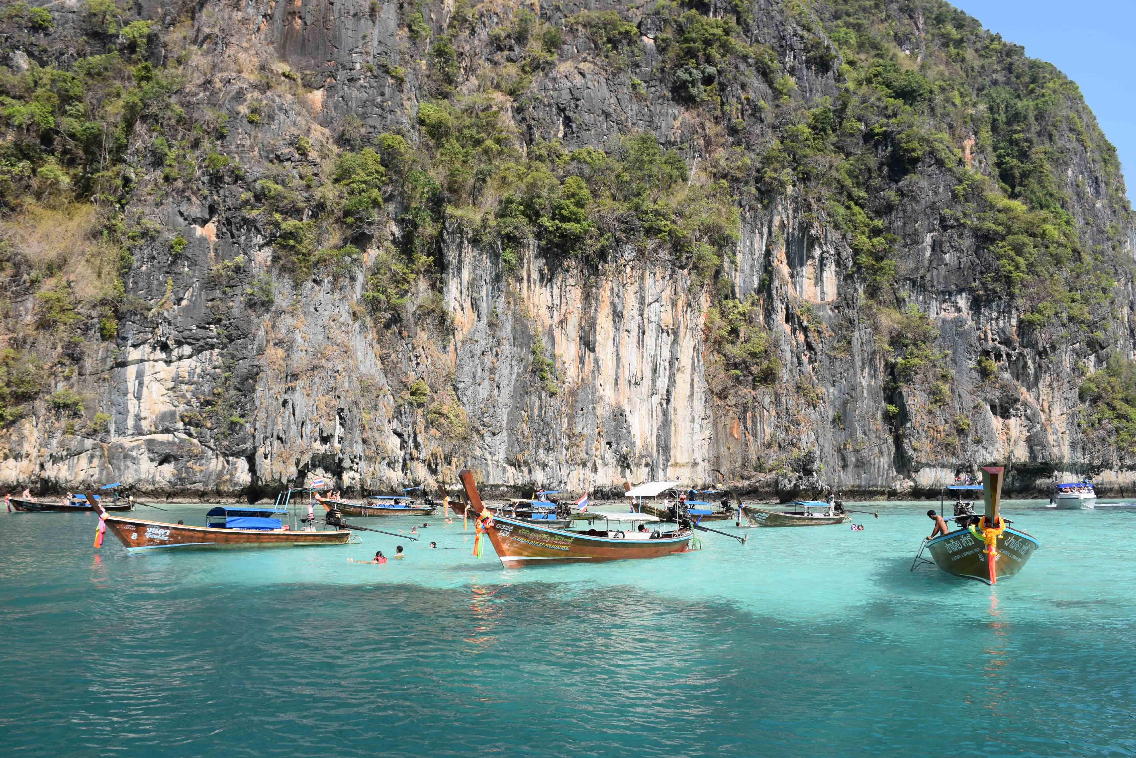 Lagoon Pi Leh bay phi phi thailand 02