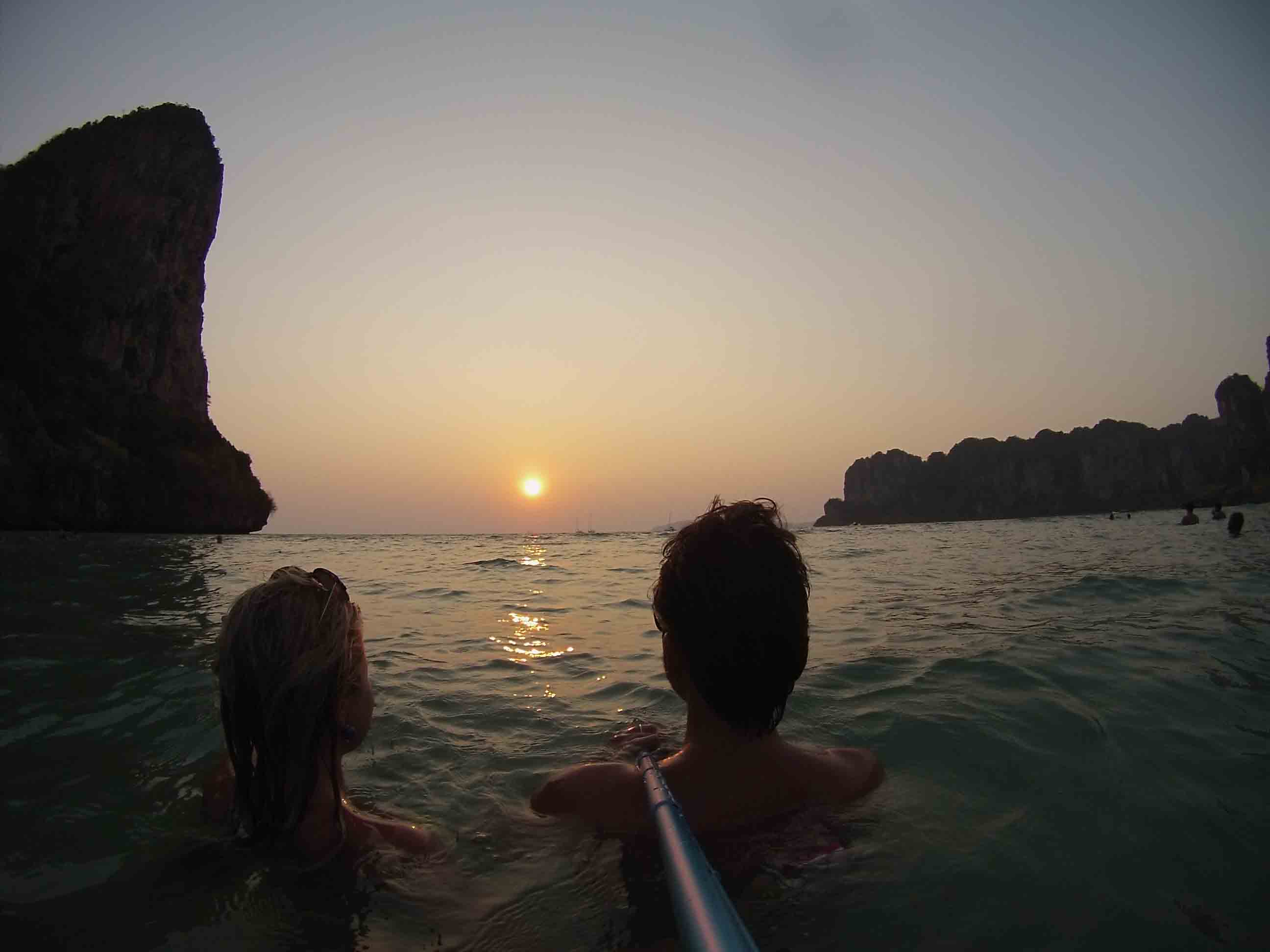 railay sunset krabi