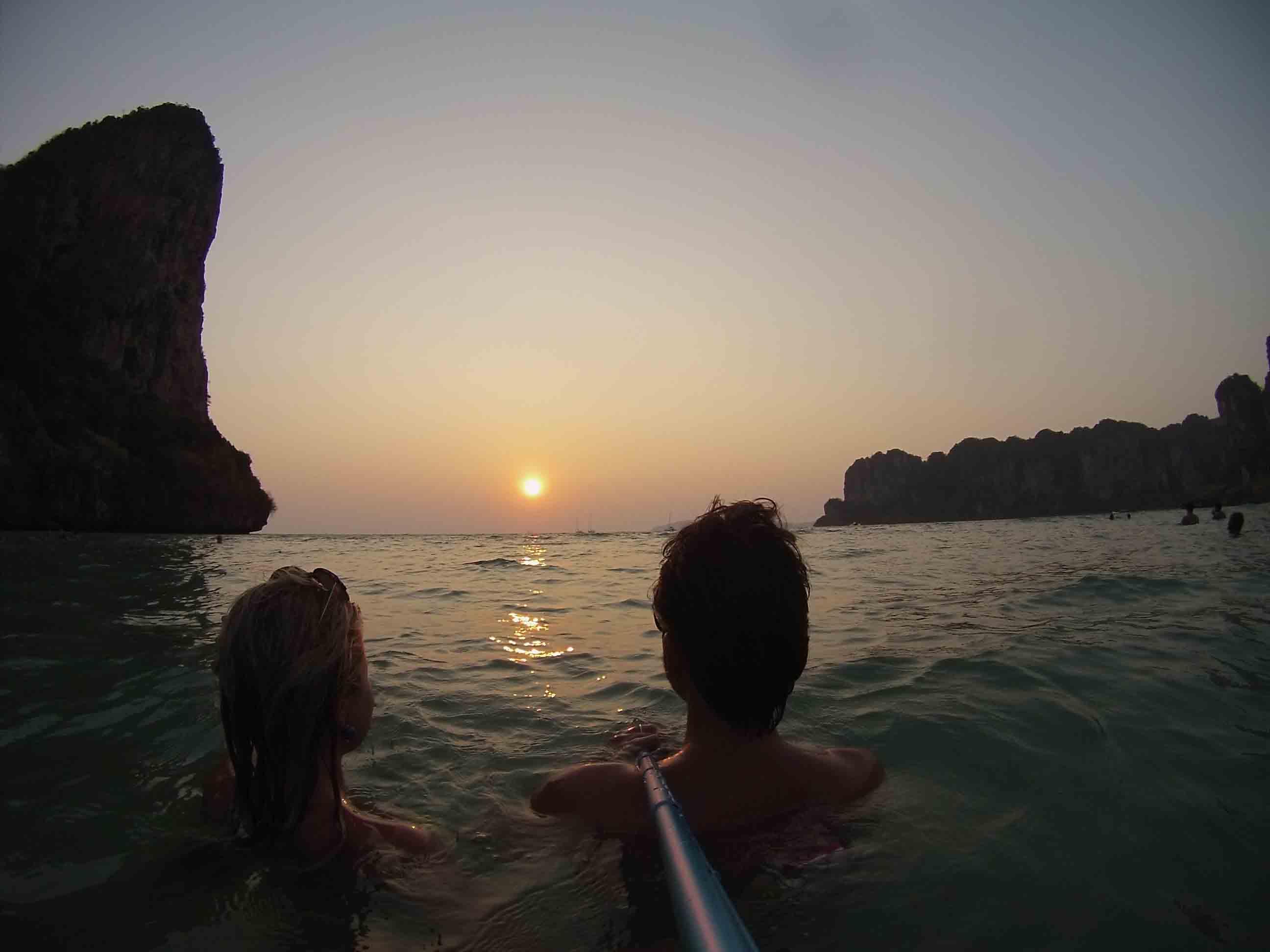 railay sunset krabi