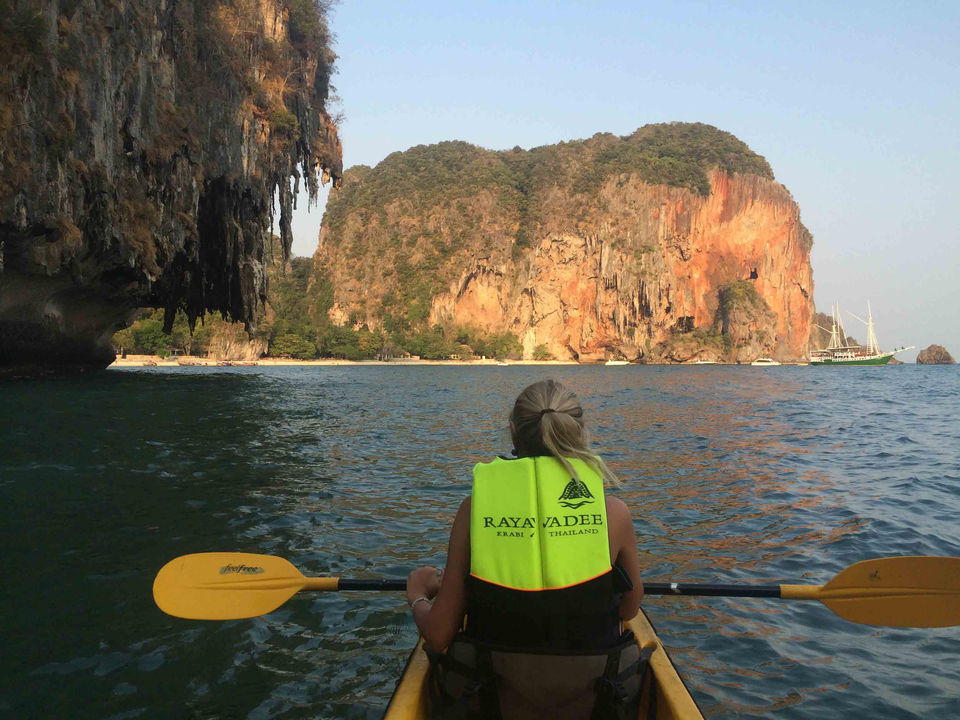 phranang cave beach krabi rayavadee kayak 18