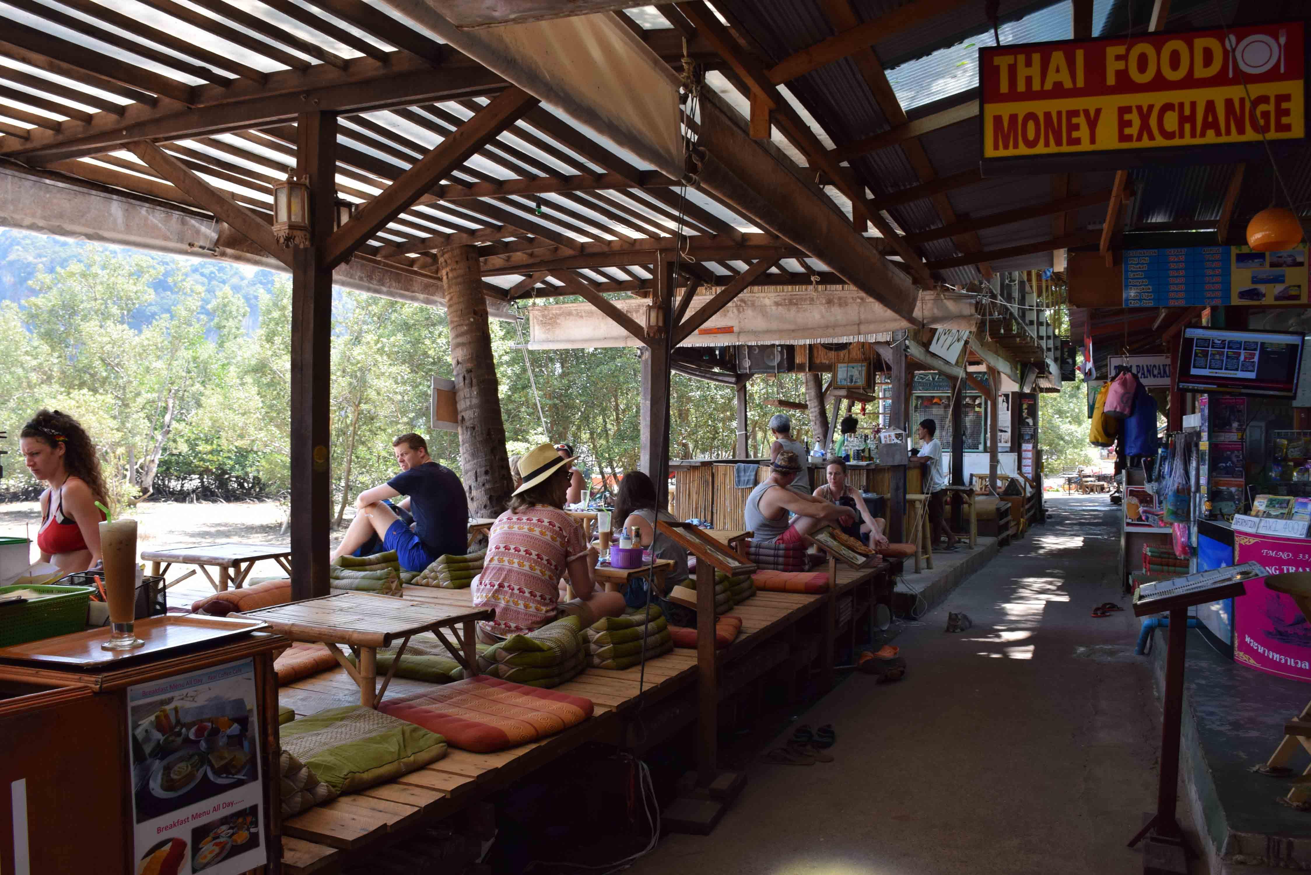 restaurants KRABI Railay and phranang beach 13
