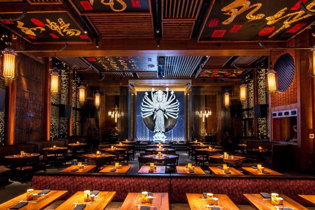 dicas de restaurantes em nova york TAO Downtown