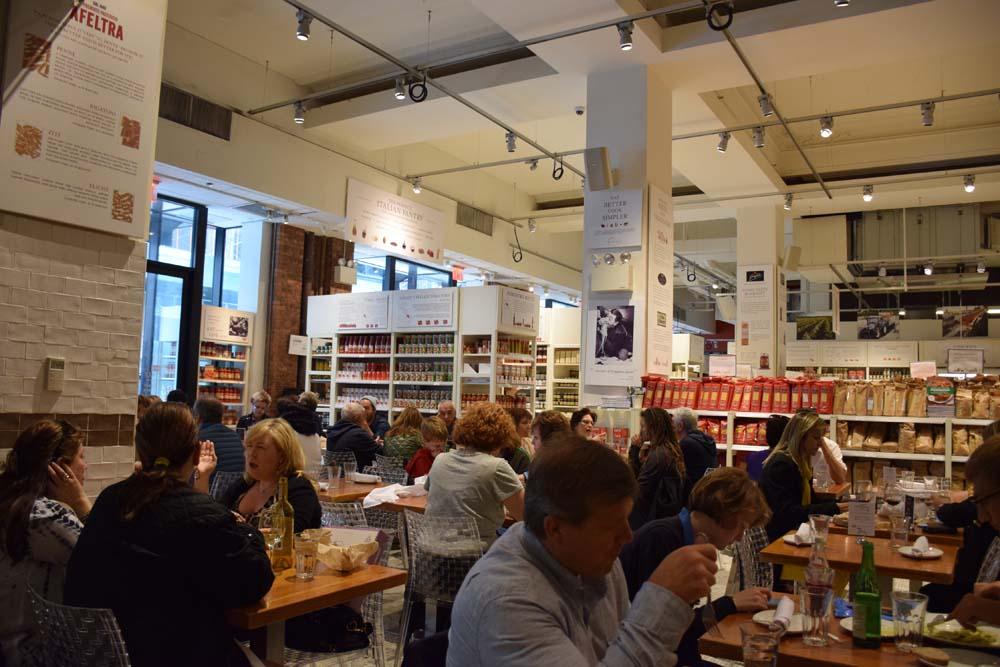 dicas de restaurantes em nova york eataly fifht avenue