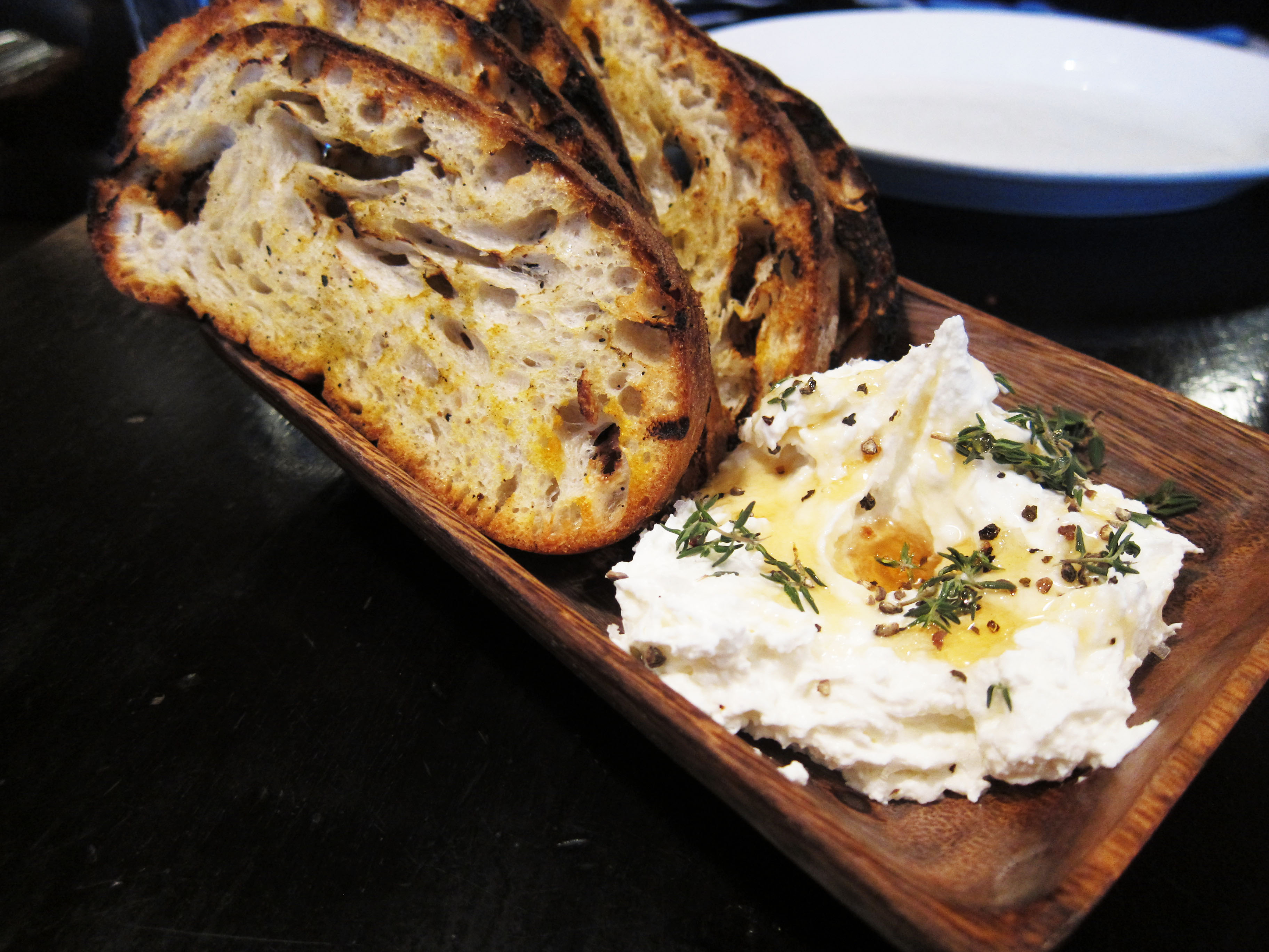Sheep's Milk Ricotta with sea salt & herbs
