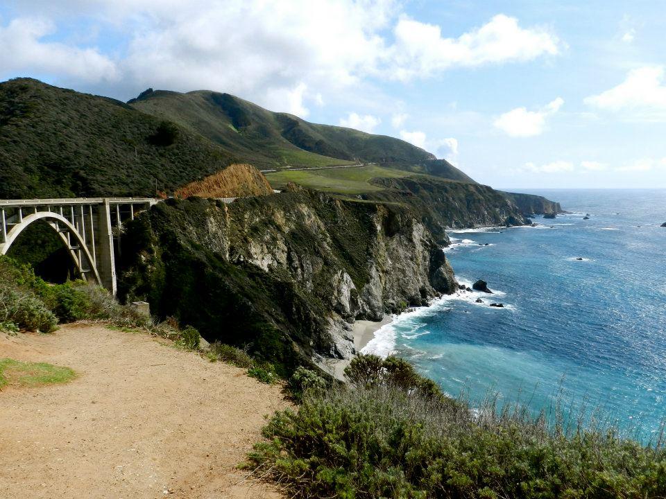 Bixby Bridge, Big Sur - viagem pela rota 1 highway california