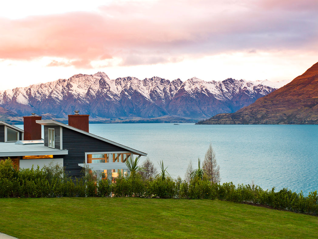 Hotel Matakauri Lodge Queenstown new zealand