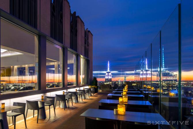 dicas de bares em nova york sixtyfive rockefeller center bar new york