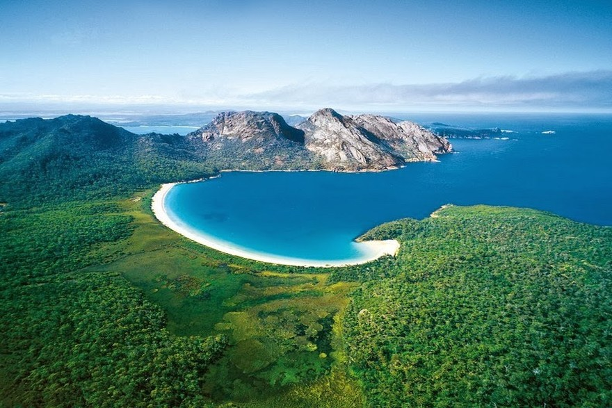 Praia Wineglass Bay