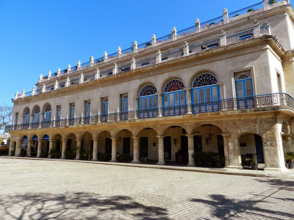 Hotel Santa Isabel plaza de armas havana cuba